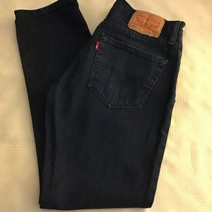 Levi Strauss & Co. 511 Jeans Dark Blue W32 L30